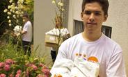 Serbia volunteer Mihailo Mandic